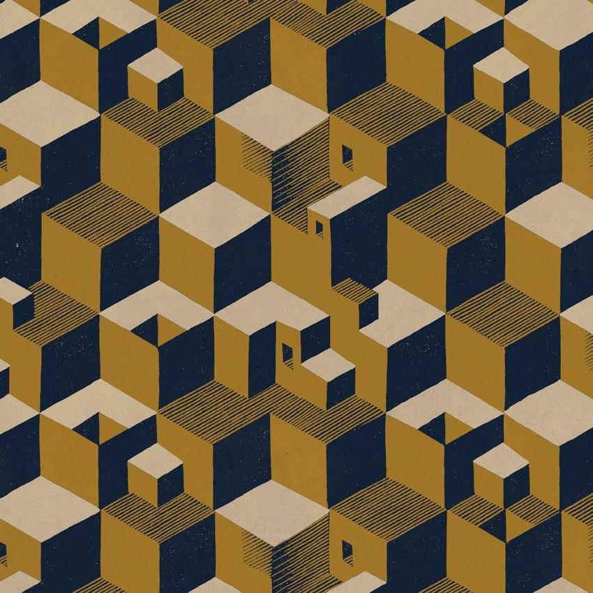 Rubino Tessuti_Escher_Cube_01