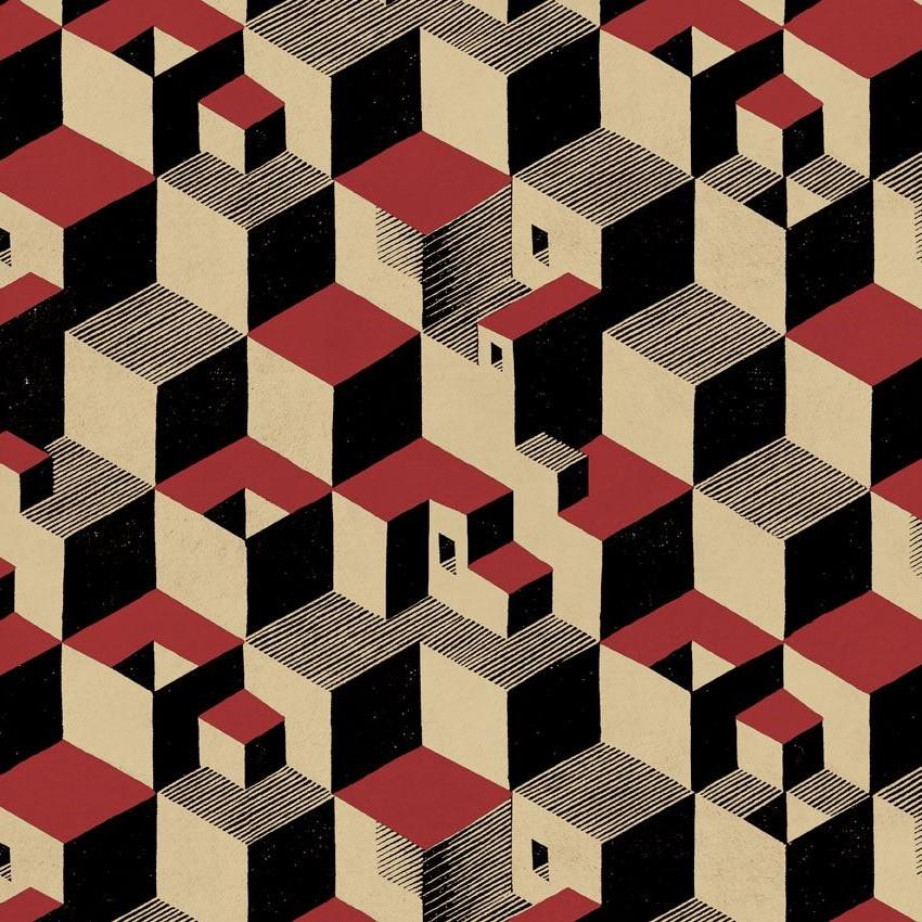Rubino Tessuti_Escher_Cube_02