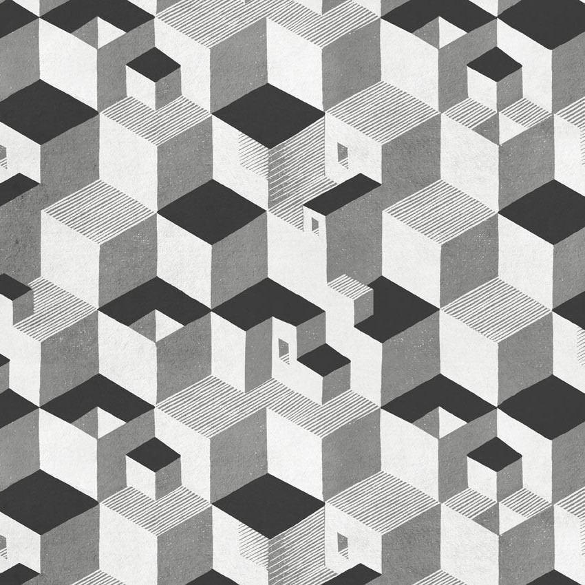 Rubino Tessuti_Escher_Cube_03